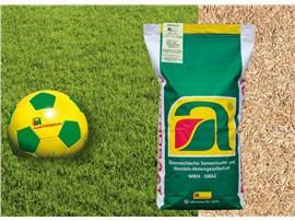 Spiel-und Sportrasen Spezial: Spiel- und Sportplatzrasen Spezial   Hoch belastbar durch dichte Grasnarbe. Se